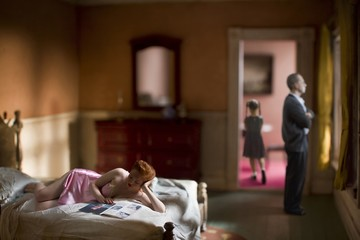 Richard Tuschman: Pink Bedroom (Family)