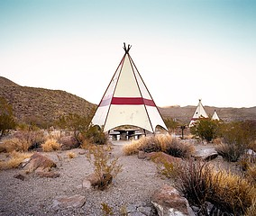 Ryann Ford: Near Big Bend National Park, Texas