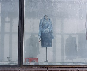 Sasha Rudensky: Mannequin Near VDNX, Moscow, Russia