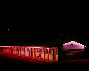 Steve Fitch: Motel, Raton, New Mexico, 1980