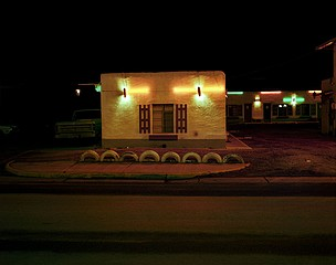 Steve Fitch: It'll Do Motel, Rt. 66, Grants, New Mexico, January 11, 1982