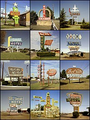 Steve Fitch: Motel signs, 1980 to 1985