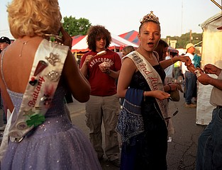 Susana Raab: Fried Twinkie, Fair Queen, McArthur, Ohio