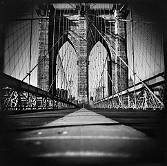 Thomas Michael Alleman: Brooklyn Bridge, 2002