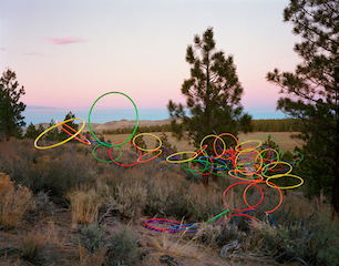 Thomas Jackson: Hula Hoops no. 1, Lee Vining, California, 2015