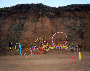Thomas Jackson: Hula Hoops no. 2, Montara, California, 2016
