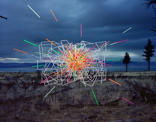 Thomas Jackson: Straws no. 4, Mono Lake, California, 2015