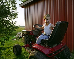 Todd Stewart: Lawnmower, 2006