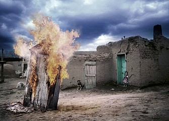 Tom Chambers: Pueblo Fire, 1997