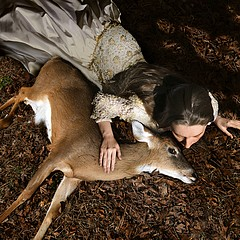 Tom Chambers: Ashly with Deer
