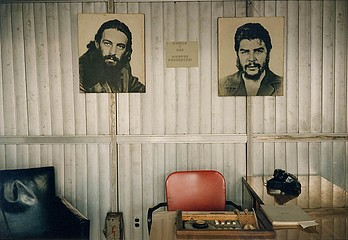 Tria Giovan: Office With Che and Camilo-Havana, Cuba, 1993