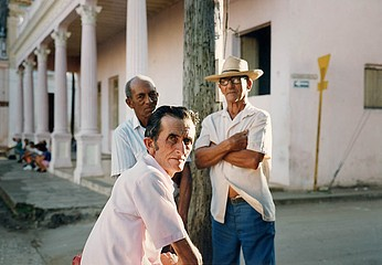 Tria Giovan: Three Men-Remedios, Cuba, 1993