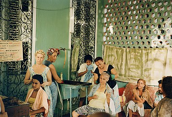 Tria Giovan: Beauty Salon in Vedado-Havana, Cuba, 1993