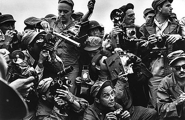 Werner Bischof: International Press Photographers Covering the Korean War, 1951