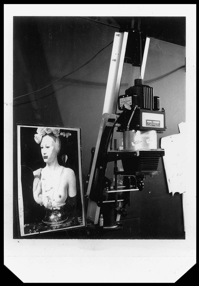 Joel-Peter Witkin's Enlarger