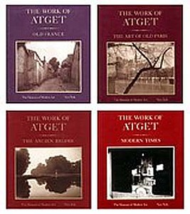 Eugene Atget: The Work of Atget. 4 Volume Set.
