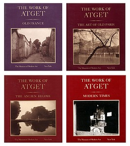 The Work of Atget. 4 Volume Set. (In original shrink wrap)