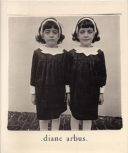 Diane Arbus: An Aperture Monograph (RARE 1st edition; with 'Two Girls in Identical Raincoats'!)