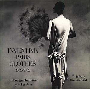 Irving Penn: Inventive Paris Clothes, INSCRIBED
