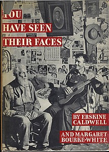 Margaret Bourke-White: You Have Seen Their Faces (Hardbound 1940 edition)
