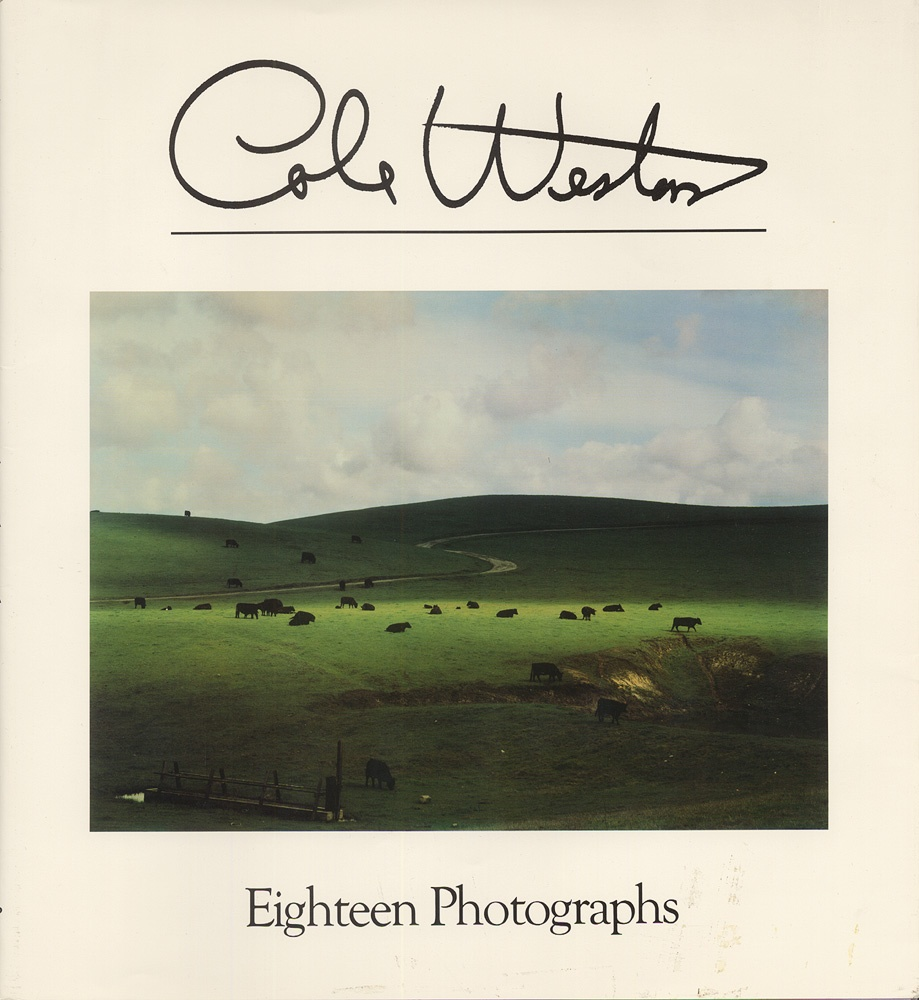 Cole Weston: Eighteen Photographs (Inscribed) plus Edward Weston's California Landscapes