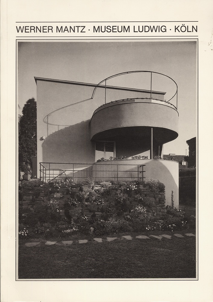 Werner Mantz: Architectural Photography in Cologne, 1926-1932