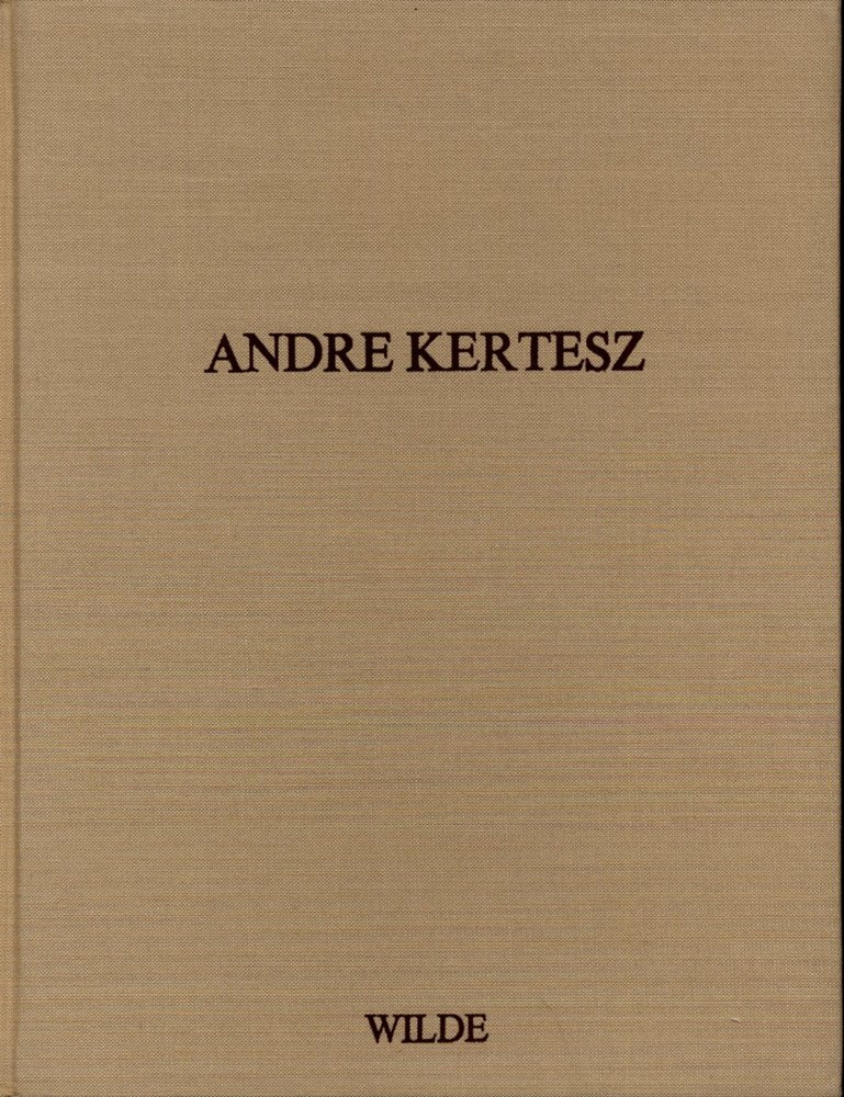 Walther: Andre Kertesz, SIGNED