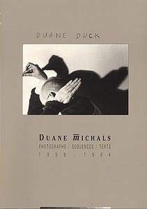 Duane Michals: Photographs, Sequences, Texts, 1958-1984 (Signed)