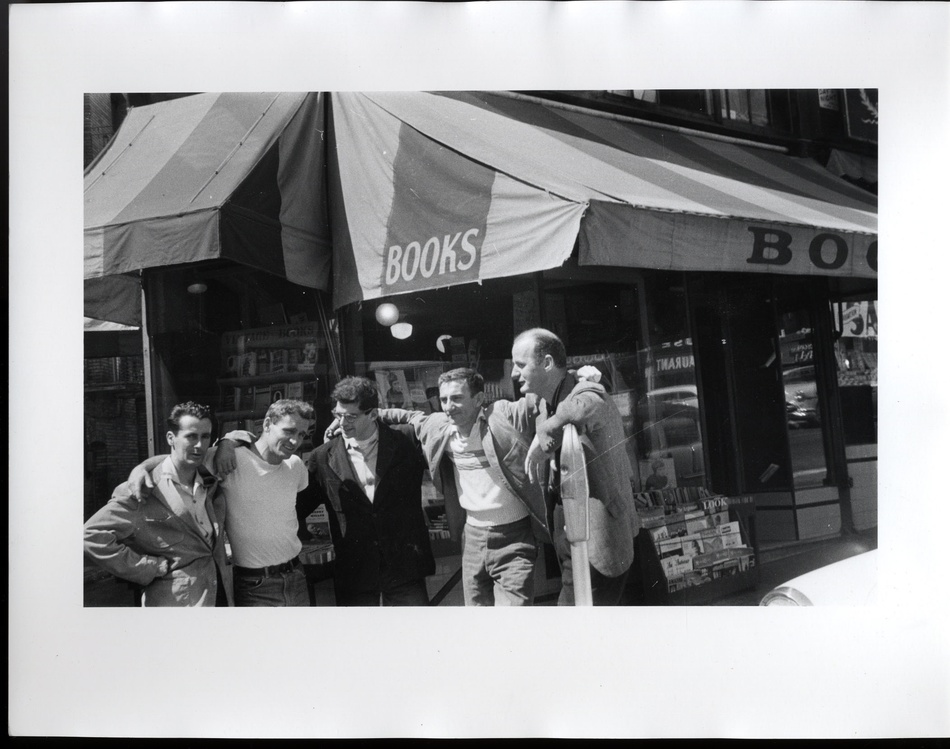 Allen Ginsberg: 'City Lights Bookshop',  1956 (Estate Stamped Print)