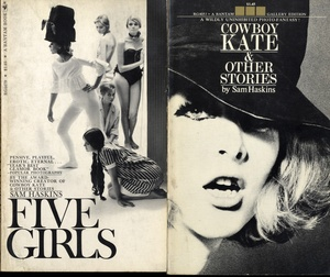 Sam Haskins: Five Girls + Cowboy Kate & Other Stories (BOTH SIGNED)