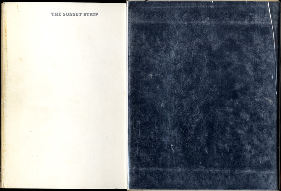 Ed Ruscha: Every Building on Sunset Strip (First Edition!)