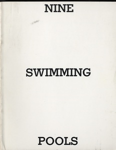 Ed Ruscha: Nine Swimming Pools