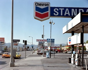 Stephen Shore: The La Brea Matrix:  Beverly and La Brea (Ltd. Ed. Portfolio of Two Prints)