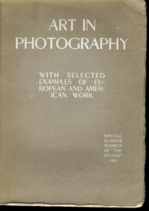 Charles Holme (ed.): Art in Photography: (Special Summer Number of