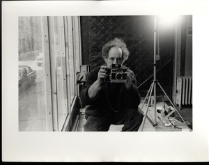 Allen Ginsberg: Portrait of Robert Frank, 1984