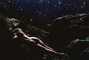 Lucien Clergue: Eve, Black,  Point Lobos, 1982 (Color Print)
