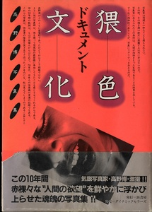 Takano Hiroshi: Document Obscene Culture [Document Waishoku Bunka] -- with scarce obi!!