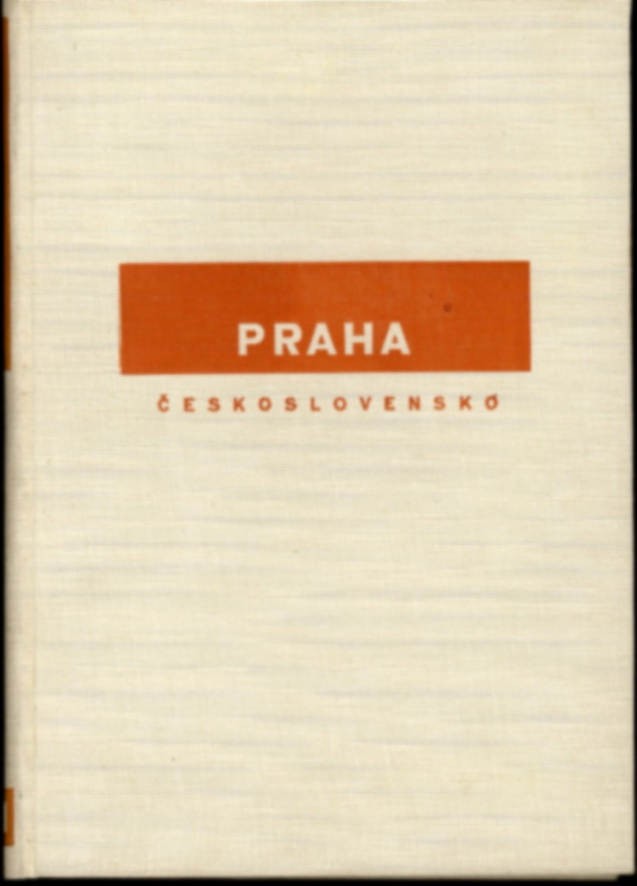 Josef Sudek: Praha (His First Book, 1929!)--in RARE Slipcase