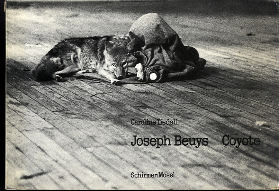 Joeseph Beuys: Coyote (Photographs by Caroline Tisdall)--FIRST EDITION!