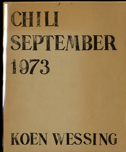 Koen Wessing: Chili, September 1973
