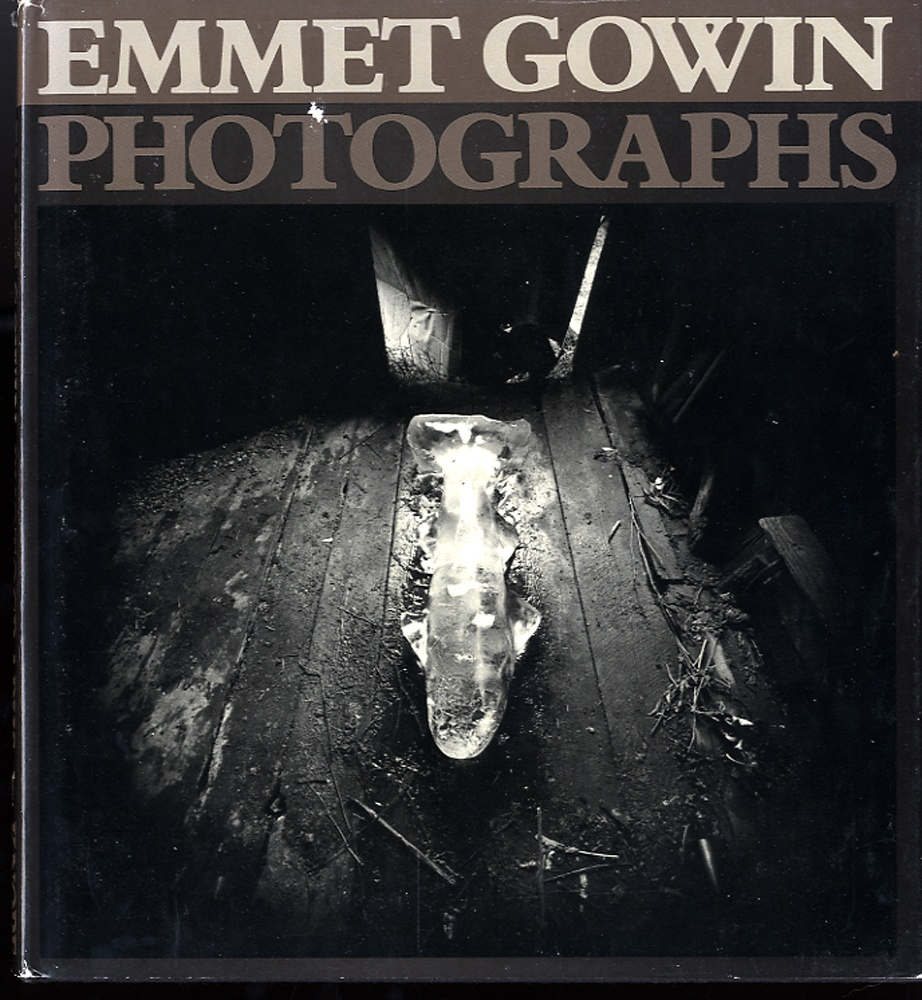 Emmet Gowin: Photographs (1st monograph, 1976, Rare Hardbound Edition!) --INSCRIBED!