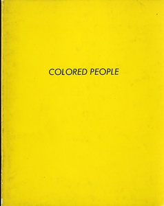 Ed Ruscha: Colored People