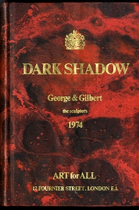 Gilbert & George: Dark Shadow (Early, 1974 Signed, Limited Edition!)