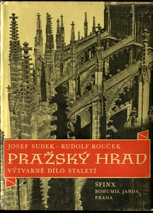 Josef Sudek (Lot of 6 Books on Prague Landmarks with Photos by Sudek)