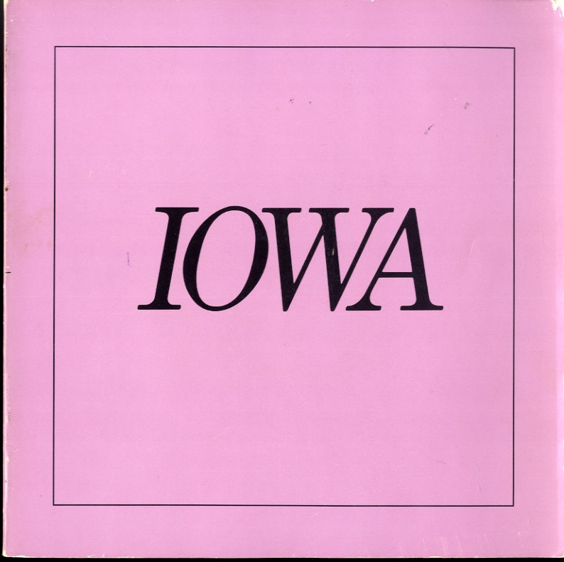 Nancy Rexroth: Iowa