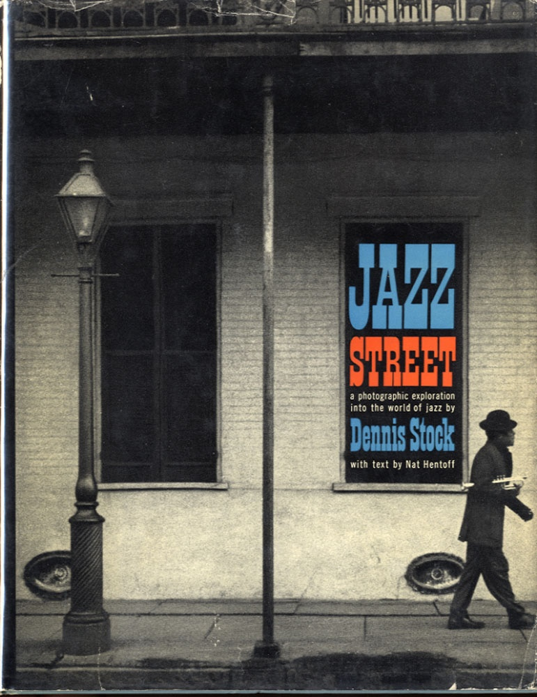 Dennis Stock: Jazz Street (INSCRIBED)