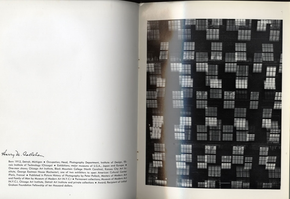 Harry Callahan: Color 1941-1980 + MoMA Catalogue (BOTH Signed) + Important 1961 Catalogue
