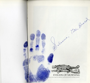 Peter Beard: Eyelids of Morning (INSCRIBED with HANDPRINT!)