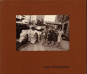 3 Books by Garry Winogrand