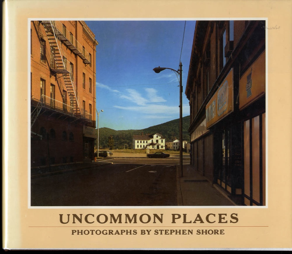 Stephen Shore: Uncommon Places (Hardbound, 1st Edition!)